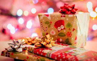 Wiskunde met cadeautjes voor dreumesen.