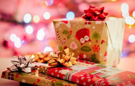 Wiskunde met cadeautjes voor dreumesen