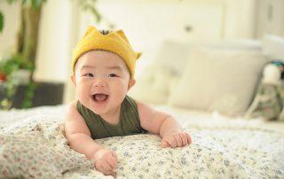 Baby als koning