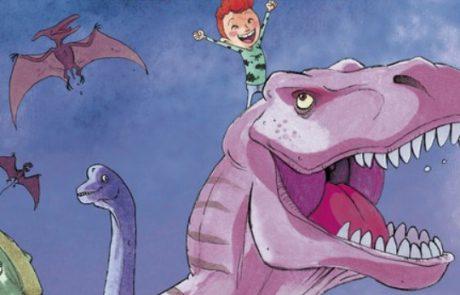 Tip voor de Nationale Voorleesdagen: Ik ben bij de dinosaurussen geweest