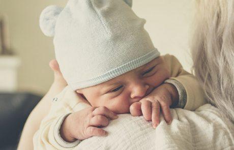 Huilen is het communicatiemiddel van baby
