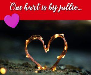 Ons hart is bij jullie