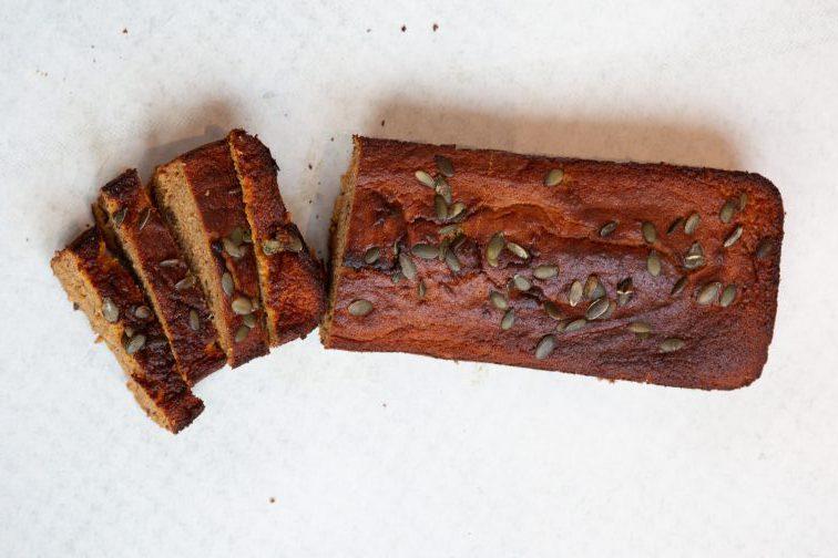 Heerlijk herfstig pompoenbrood