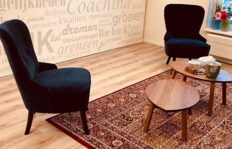 coachingsruimte met twee stoelen