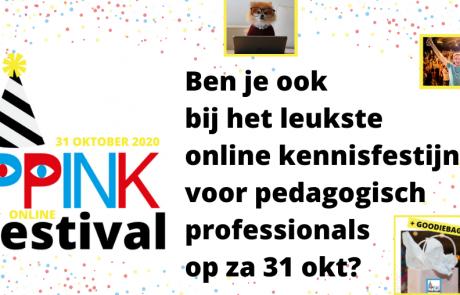 5 redenen waarom je bij het PPINK-festival wilt zijn