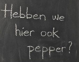 Hebben we hier ook pepper? - Engels op de bso