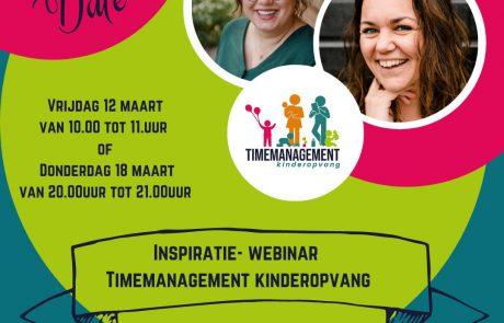 webinarTimemanagementkinderopvang
