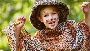 kind verkleed als tijger