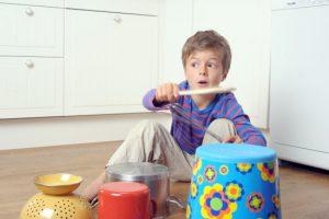 Kun je muziek maken met keukenspullen?